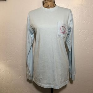 Ivory Ella Long sleeve tee, size small